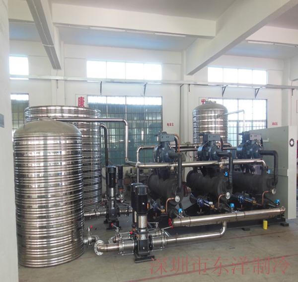 医药企业200HP水冷螺杆式冷水机组