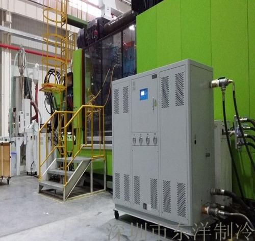 注塑厂40HP水冷箱式冷水机