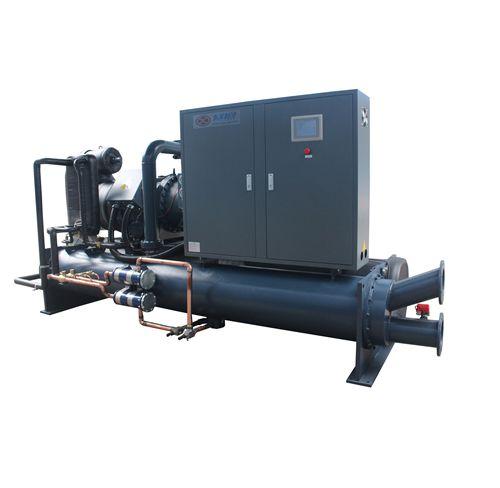 印刷厂用水冷螺杆式冰水机100Hp水冷螺杆冰水机