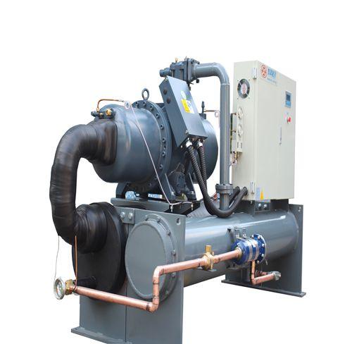 印刷厂用水冷螺杆式冷冻机100Hp水冷螺杆冷冻机
