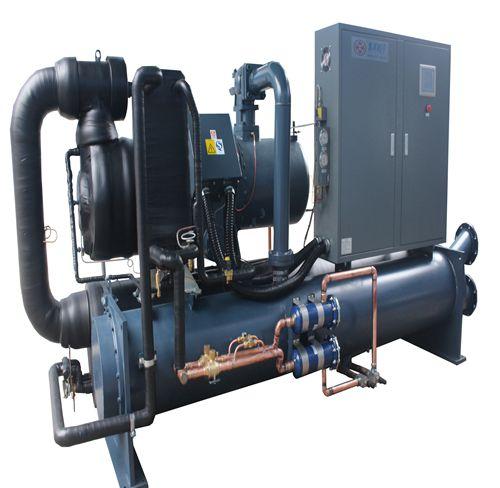 深圳印刷厂用100Hp水冷螺杆冷水机