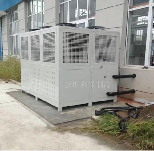 深圳150Hp风冷双螺杆式冷水机厂家生产直销