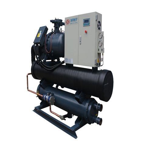 铝片加工冷水机150p水冷螺杆式冷水机
