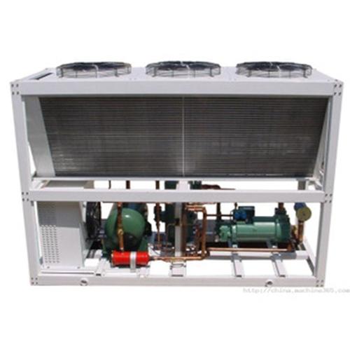 广东反应釜配冷水机厂家生产销售3p风冷式冷水机